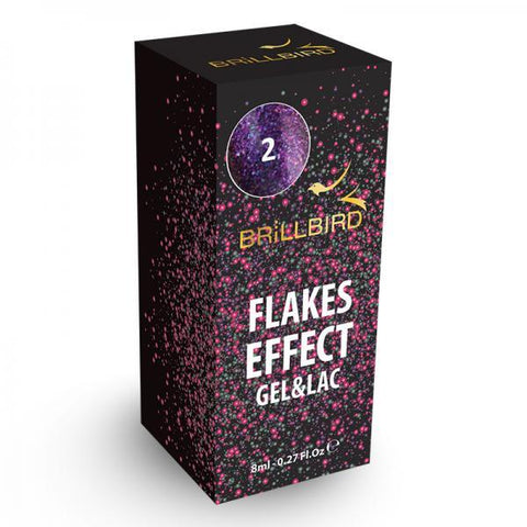 Flake effect gel&lac - 2