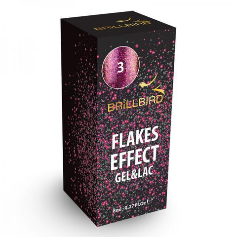 Flake effect gel&lac - 3
