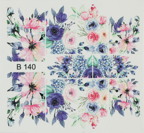 BB 3D Effect nail sticker (B140)