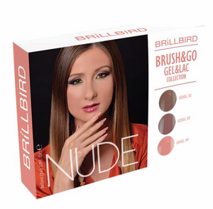 Brush & Go Gel & Lac - NUDE