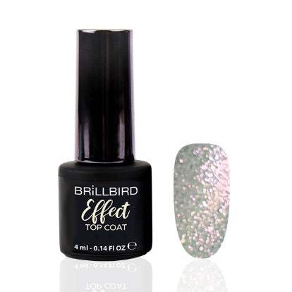 Effect Top Coat 4 ml Pink