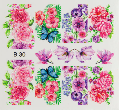 BB 3D Effect nail sticker (B30)