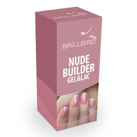 Nude builder gel&lac 8ml