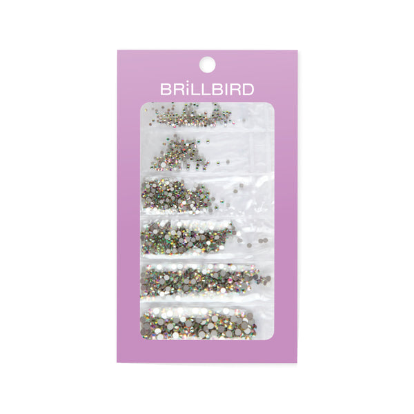 Rhinestone Mix 6 Sizes Different Colours