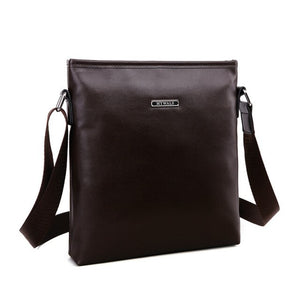IVOTKOVA New Vintage Bags For Men Brand PU Leather Messenger Bag Casual Men's Bag Shoulder Bags iPad Holder Gift