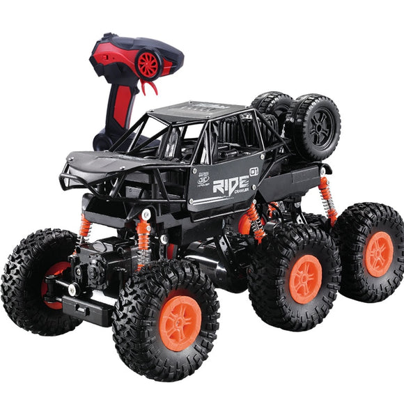 2.4G 6WD remote control car 1:16 remote control toy alloy climbing cars On The Radio Control Toys Vehicle  For Children  toyex
