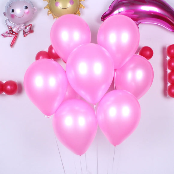 100 Pcs 10 Inch 1.8g Latex Balloons Inflatable Wedding Decoration Children toyex Birthday Party Air Baloon Dropshipping F