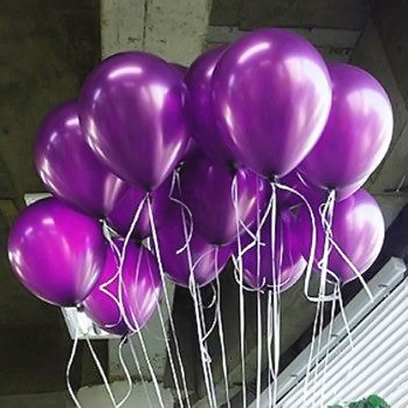 100 Pcs 10 Inch 1.2g Bright Color Latex Balloons Party Decorate Valentine's Day Happy Birthday Wedding toyex