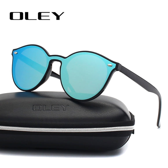 OLEY Fashion Cat Eye Sunglasses Women Brand Designer Retro Female Sun Glasses oculos de sol feminino UV400 Y7155