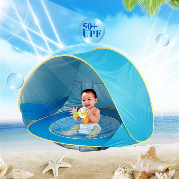 Kids Baby Games Beach Tent Portable Build Outdoor Sun Child Swimming Pool Play House Tent Toys For Baby  toyex