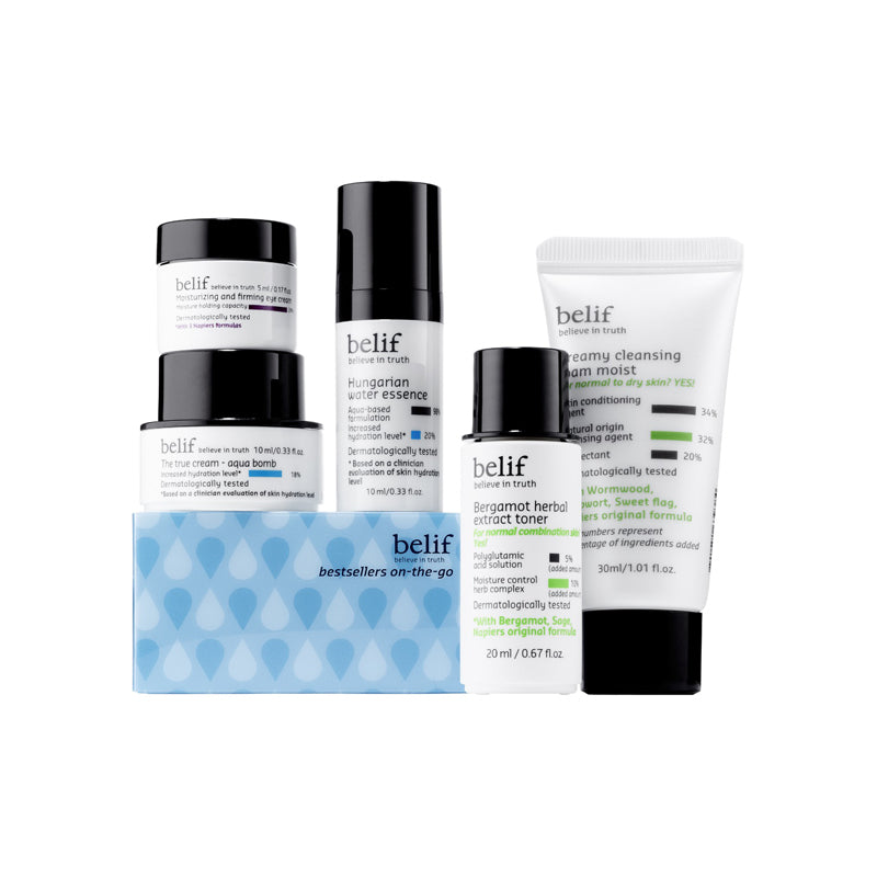 Bestsellers on-the-go travel kit - belifusa