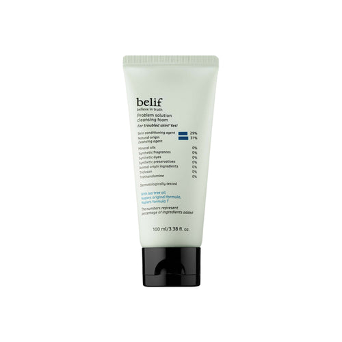 Problem solution cleansing foam - belifusa
