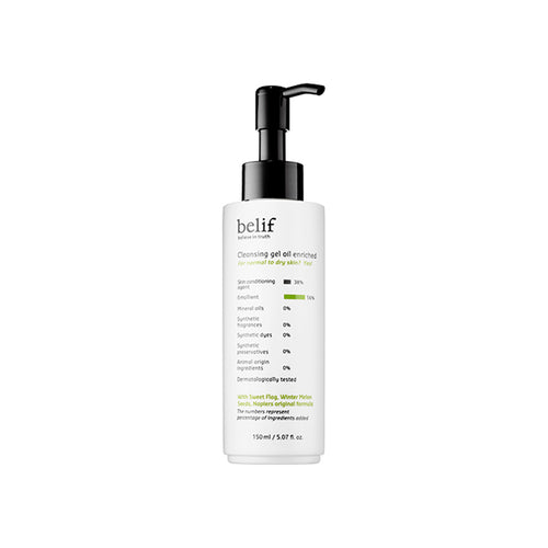 Cleansing gel oil enriched - belifusa