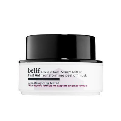 FIRST AID TRANSFORMING PEEL OFF MASK