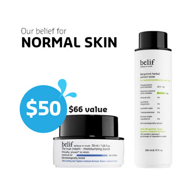 Our belief for normal skin - belifusa