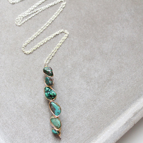 FOR KEEPS necklace in Turquoise
