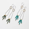 Multi earrings (Dylan in Turquoise and A