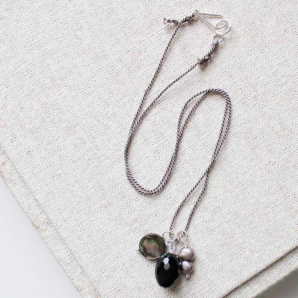 In Dreams (Abalone, Black Agate, Gry Pea