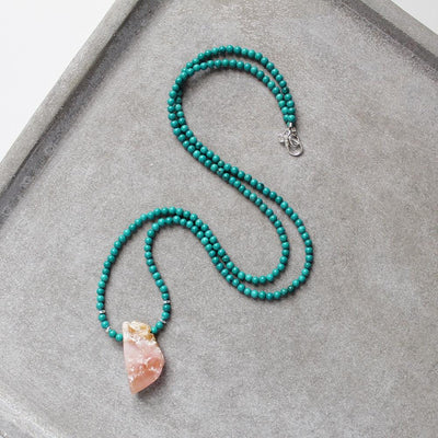Handmade turquoise necklace
