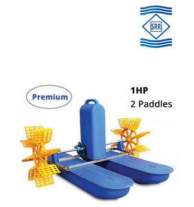 SRR Premium : 1 HP 2 Paddle Wheel Aerator (3 Phase)