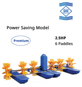 SRR Premium : 2.5 HP 6 Paddle Wheel Aerator (3 Phase)