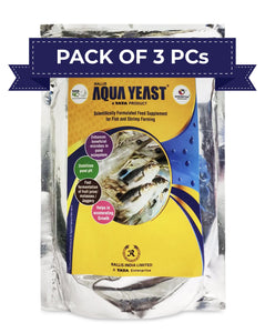 Aqua Yeast - 3x1 Kg (Pack of 3 PCs)