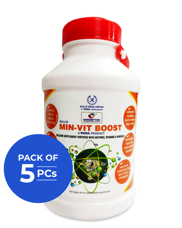 MIN-VIT Boost - 5x1 Kg (Pack of 5 PCs)