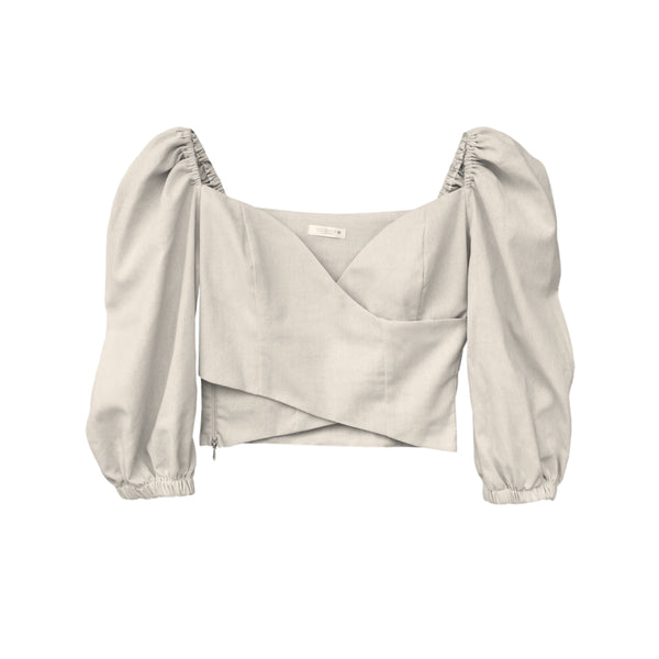 Crop Top Alma Lino