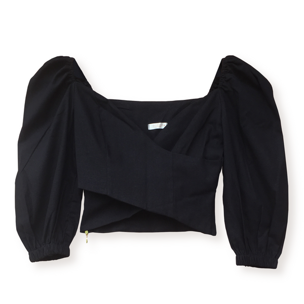 Crop Top Alma Negro