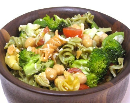 Tri-color Garden Vegetable Pasta Salad Recipe