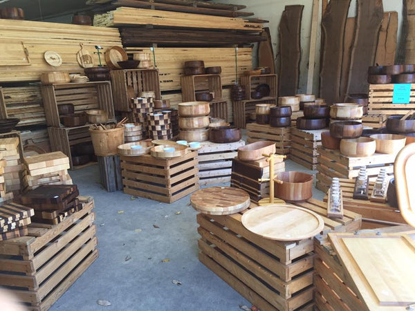 Columbus Day Sale discount wood bowls