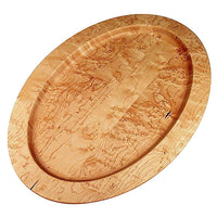 Birds Eye Maple large serving platter