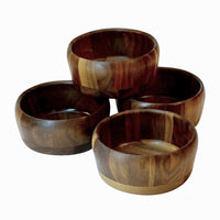 Crocus wooden bowls collection