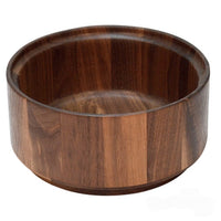 Black walnut Euro wooden salad bowl