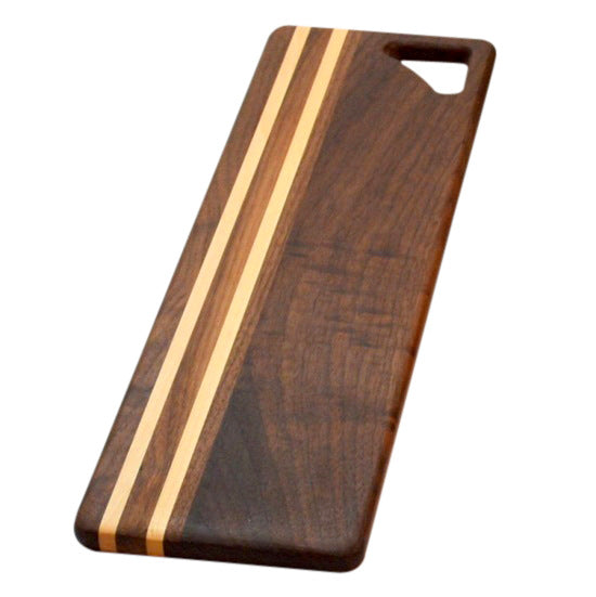 Black Walnut Long wooden bread board