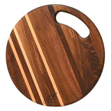 Black Walnut round cheese cutting board