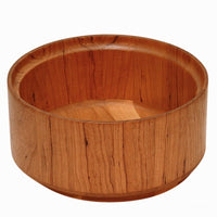 Cherry Euro wooden salad bowl