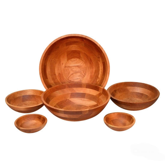 Cherry wood Green Mountain Bowls collection