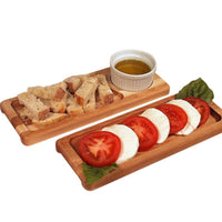 Bread and Oil Server and Crudite Board
