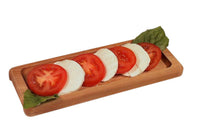 Mozzarella serving board