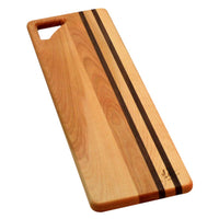 Yellow Birch Long wooden bread board