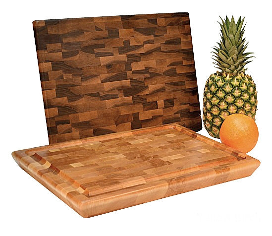 Yellow Birch End Grain Cutting Board