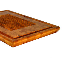 Mountain Mills Large End Grain Cutting Board with Pyramids