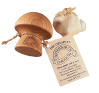 The Original Canterbury's Crack & Peel Garlic Peeler