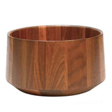T1 black walnut wooden salad bowl