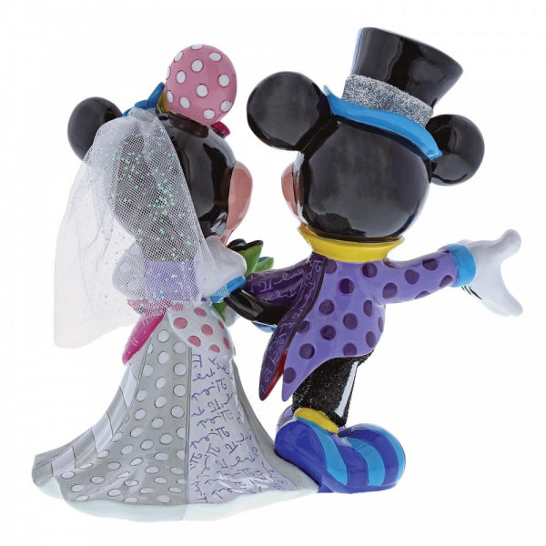 Disney Britto Collection: Mickey and Minnie Mouse Wedding Figurine