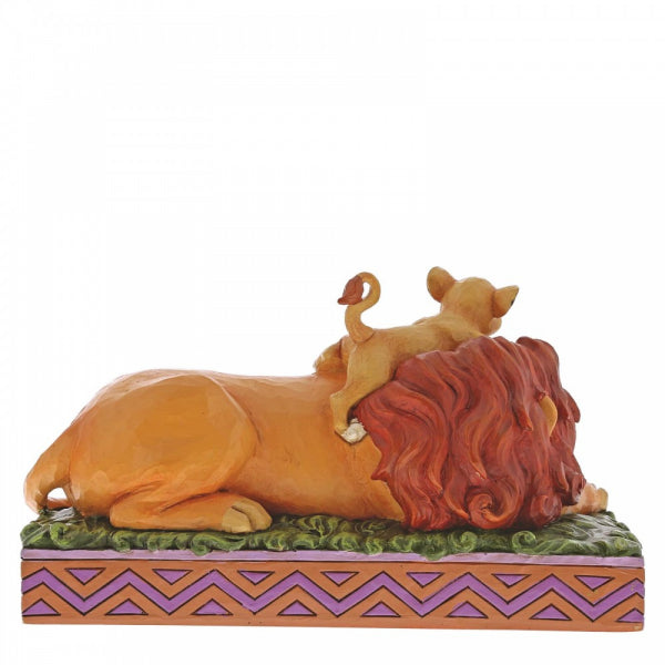 Disney Traditions Collection: A Father's Pride (Simba & Mufasa Figurine)