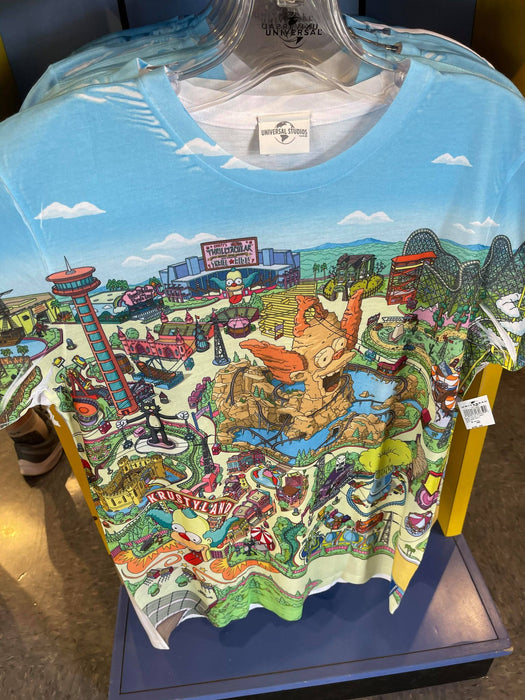 Universal Studios The Simpsons Krusty Land T-Shirt - Adult