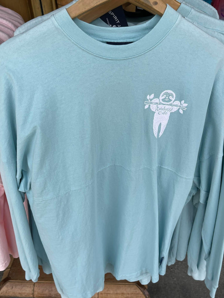 Rainforest Cafe Explore The Outdoors Blue Spirit Jersey Adults