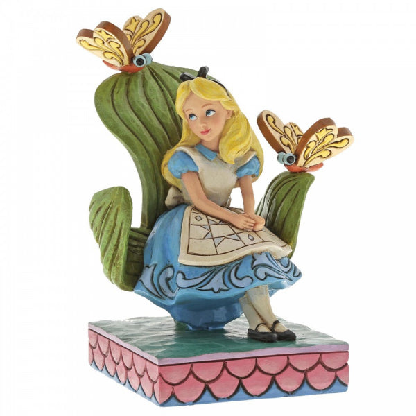 Disney Traditions Collection: Curiouser and Curiouser (Alice in Wonderland Figurine)
